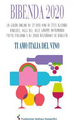 Risultati immagini per guida bibenda 2020 ti amo italia del vino