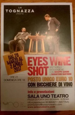 Eyes Wine Shot