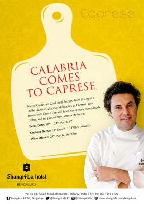 Calabria food promotion